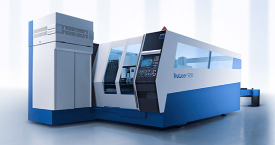TRUMPF TruLaser L5030 Purchase by Barden Fabrications