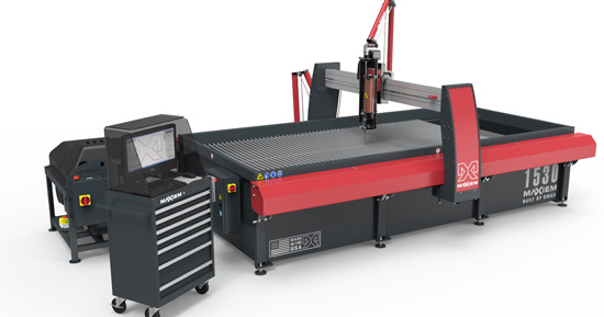 MJB Engineering Expand with OMAX Waterjet
