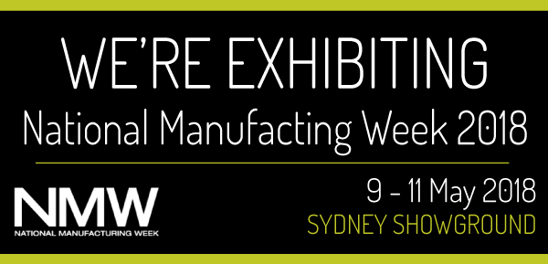 We're Exhibiting at National Manufacturing Week 2018