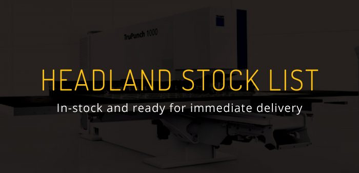 Last Chance to Buy - Headland Stock List