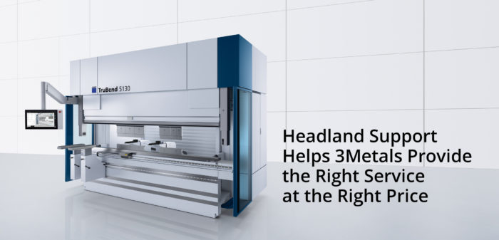 Headland Support Helps 3Metals Provide the Right Service at the Right Price