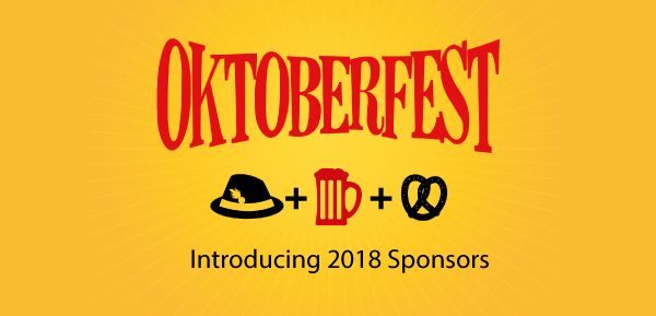 Introducing Oktoberfest 2018 Sponsors