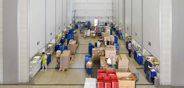 Increasing Warehouse Productivity with Hänel