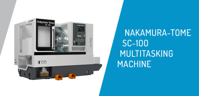 Nakamura-Tome SC-100 Super Multitasking Machine