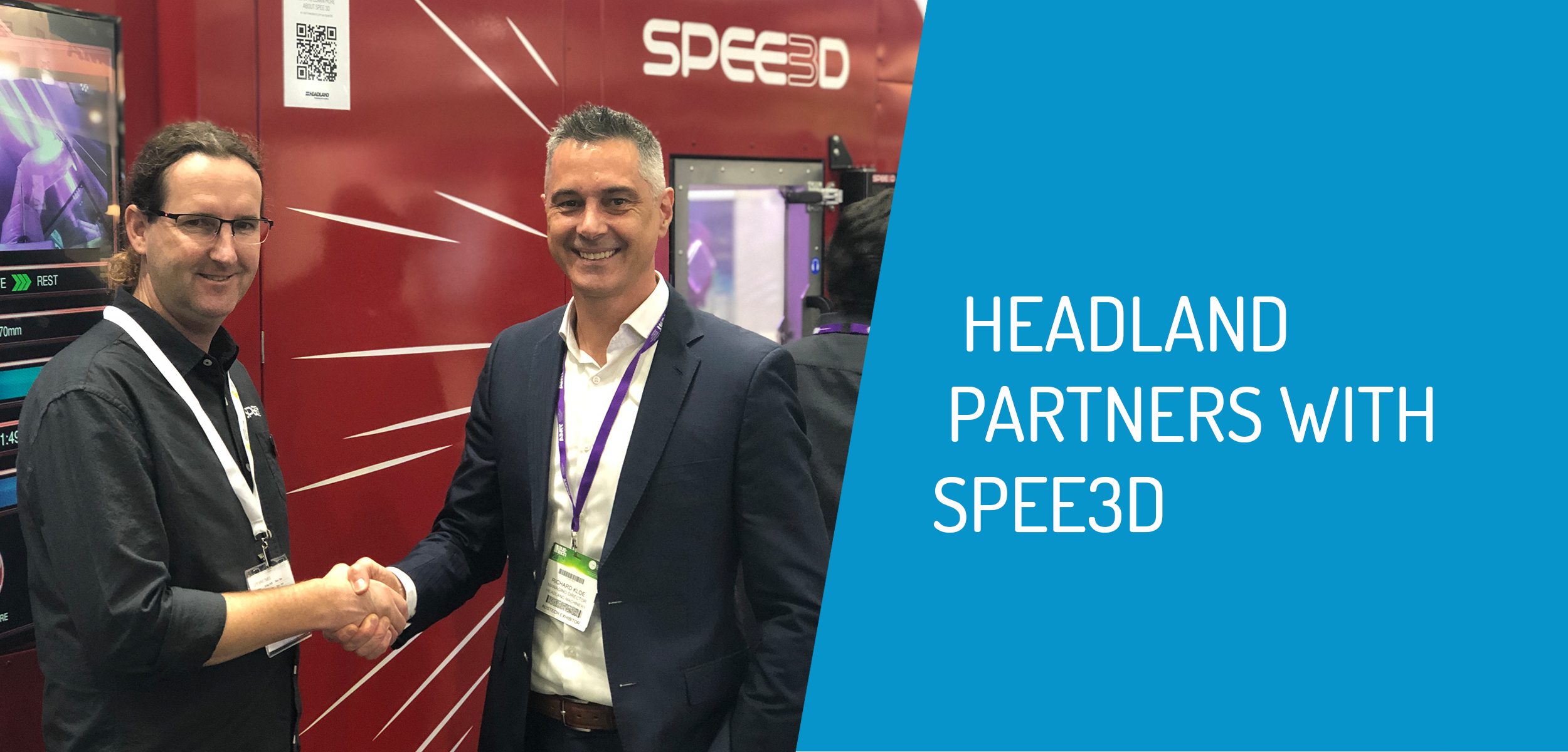 Headland Partners with Spee3d