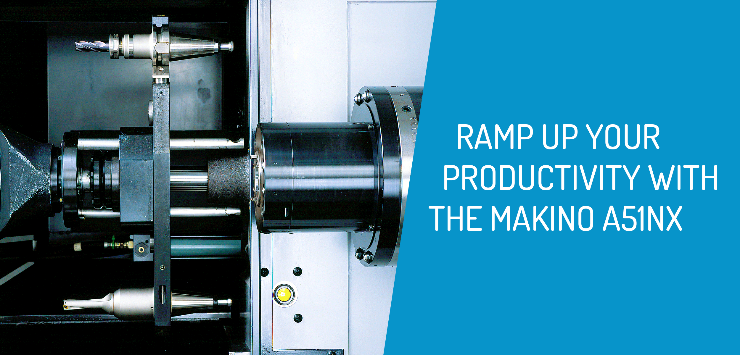 Ramp Up Productivity with Makino a51nx