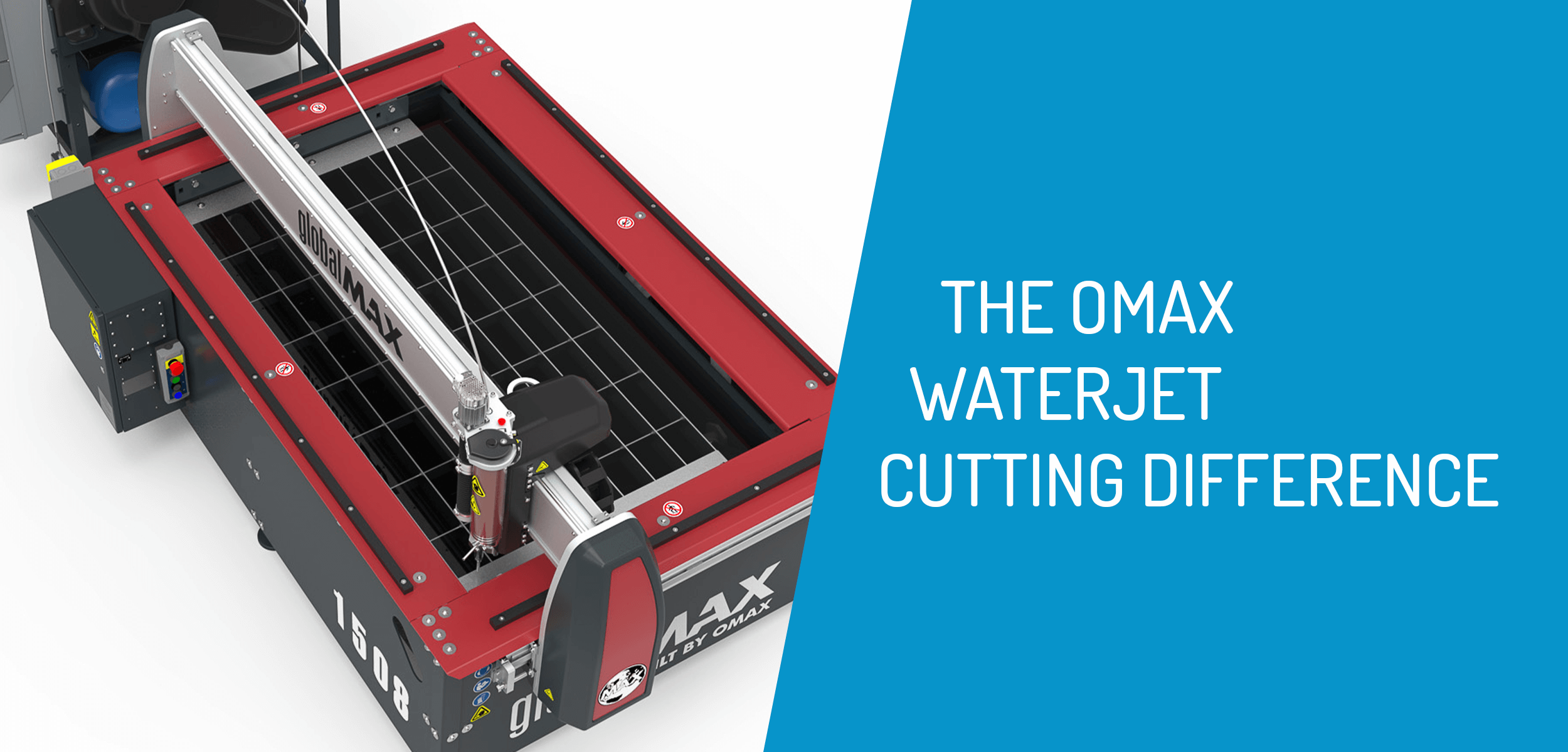 OMAX Waterjet Cutting Difference