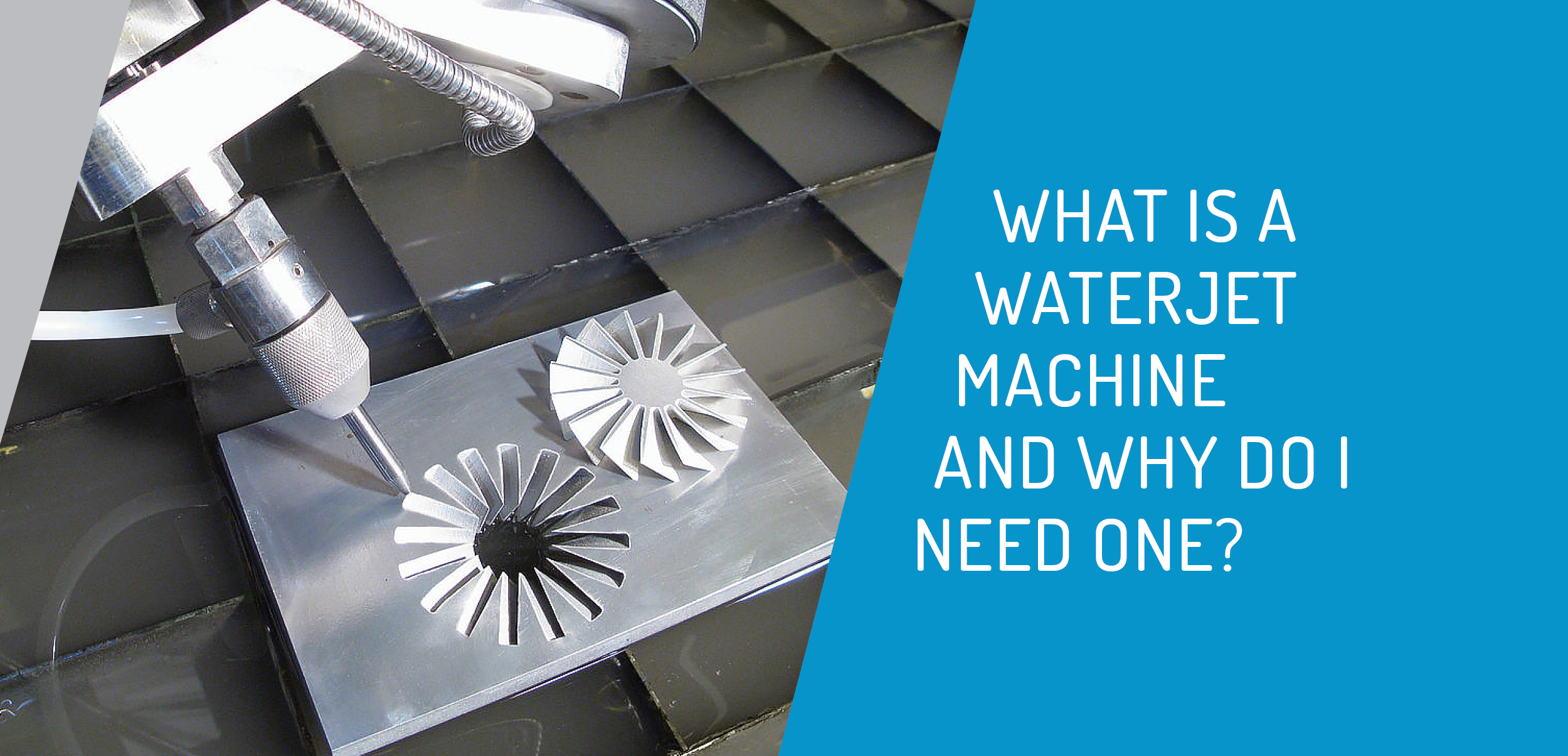 what is a waterjet cutting machine