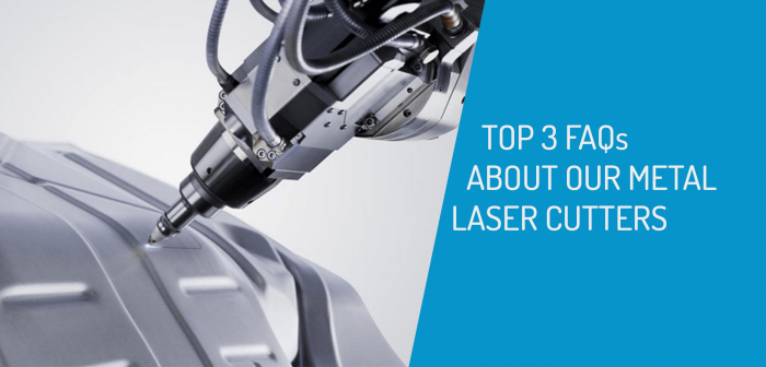 Top Three FAQ About Our Metal Laser Cutter