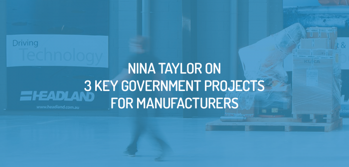 Three Government Projects to Benefit Manufacturers