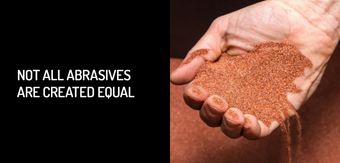 Not All Abrasives Are Created Equal for your Waterjet Cutter