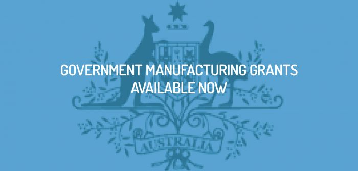 Government Manufacturing Grants Available Now