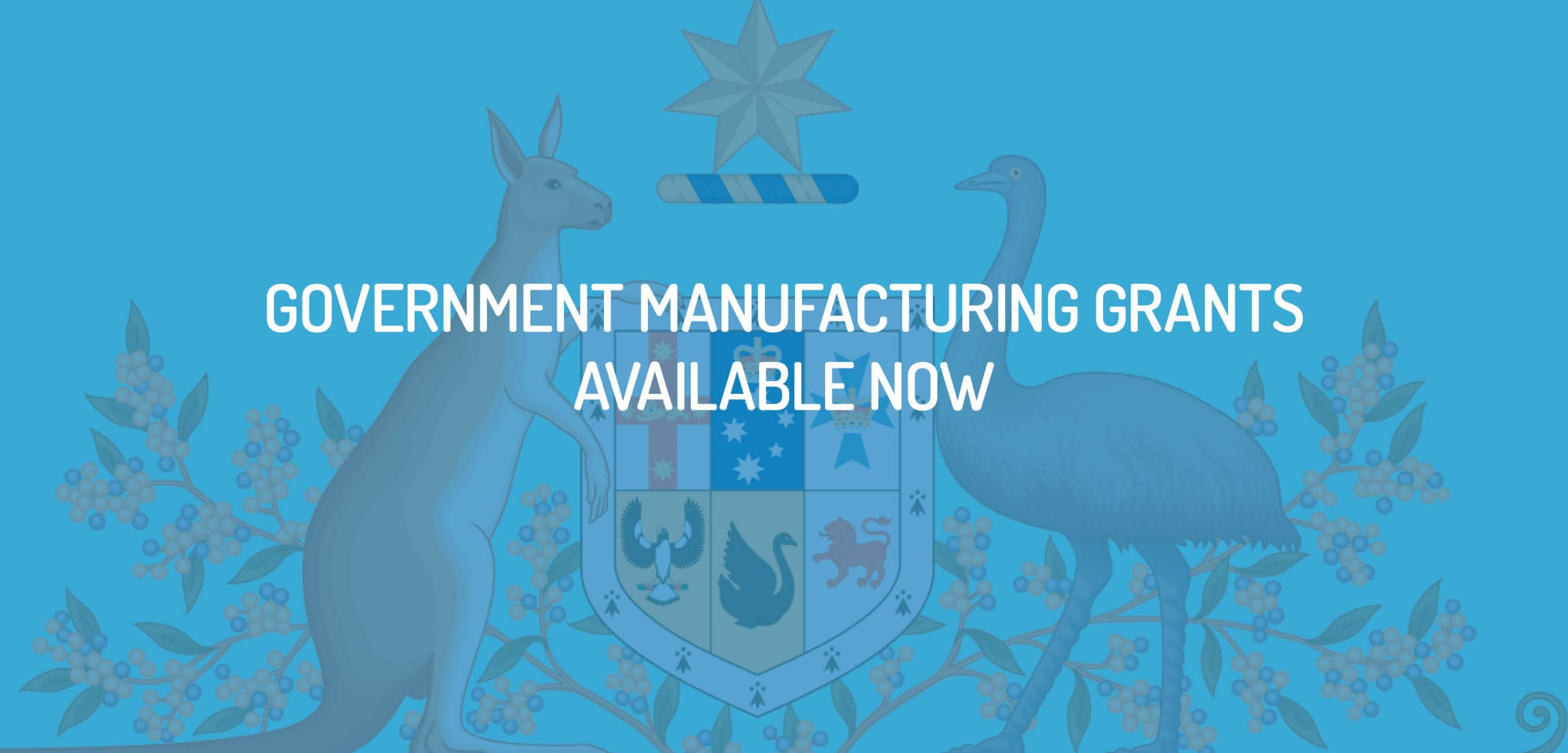 Government manufacturing grants