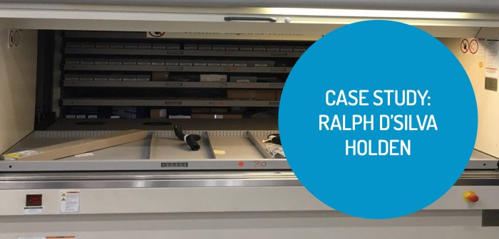 Warehouse Storage Solution for Ralph D'Silva Holden