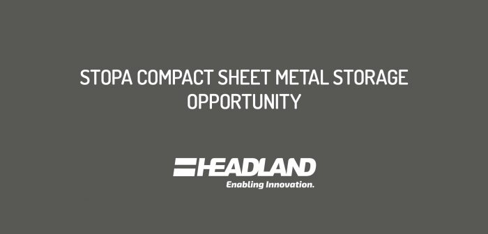 Second Hand STOPA Compact, Sheet Metal Storage Opportunity