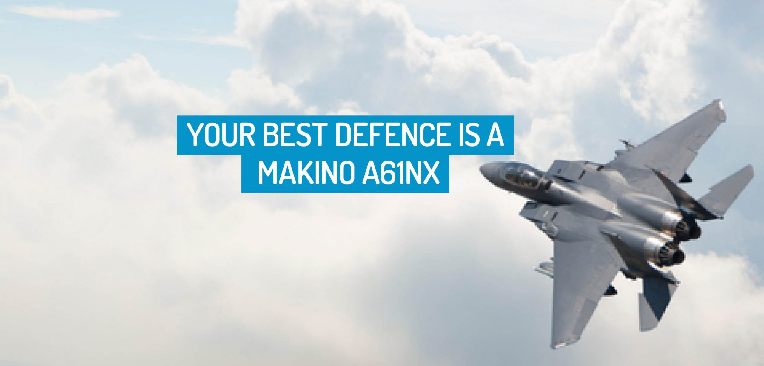 makino a61nx for defence
