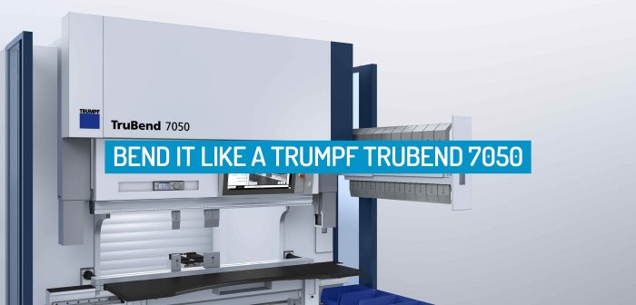 Bend it like a TRUMPF TruBend 7050