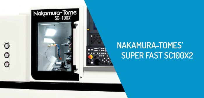 Nakamura-Tome's SC100X2 High Repetition, High Precision Machine