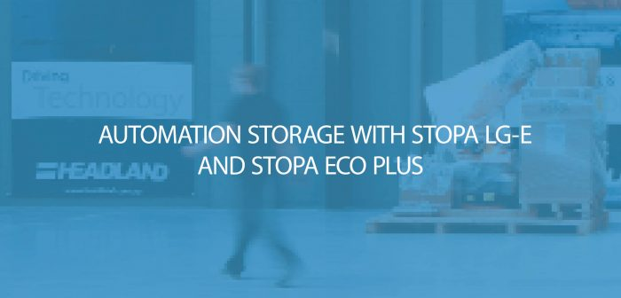 Automation Storage with the STOPA LG-E and STOPA ECO