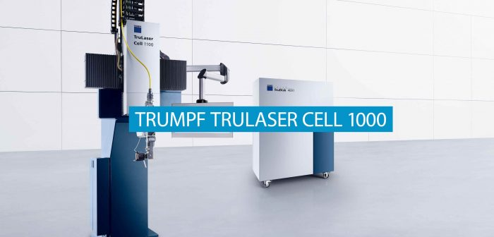 Automation with the TRUMPF TruLaser Cell 1000