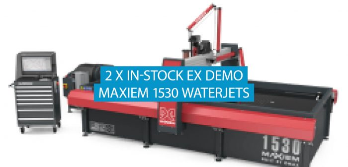 Two Ex Demo Maxiem 1530 Waterjet Systems for Sale