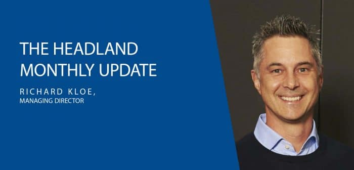 MD Update: A Message from Richard Kloe
