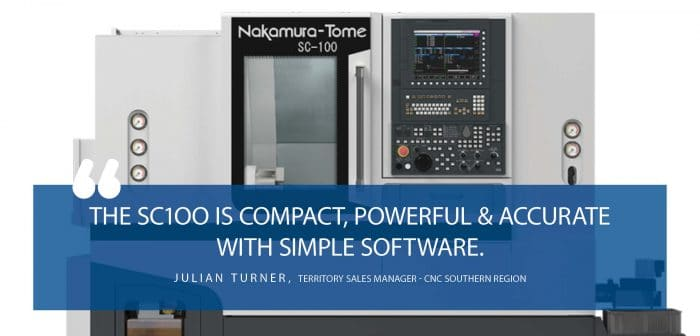 The Tiny but Mighty Nakamura-Tome SC100, Twin Spindle with Milling